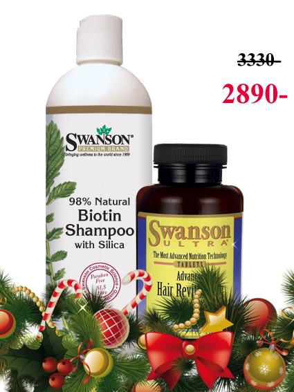шампунь Свансон+ Восстановление волос