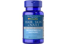витамины для волос кожи и ногтей с биотином