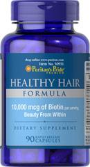 Формула здоровых волос с биотином